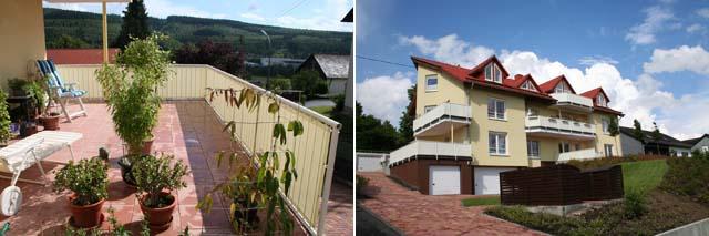 Balkonsichtschutz von Hofsäß