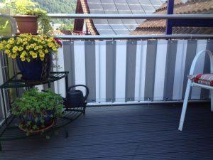 Balkonverkleidung von Hofsaess