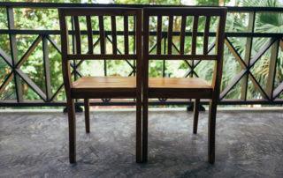 Balkon-Möbel