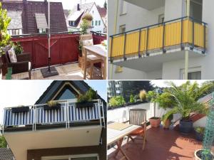 Balkon Sichtschutz nach Maß