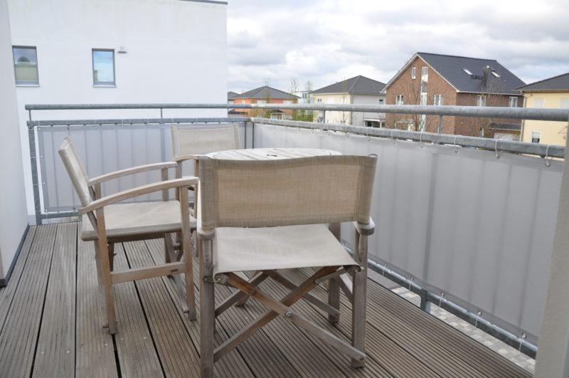 Sichtschutz-Balkon